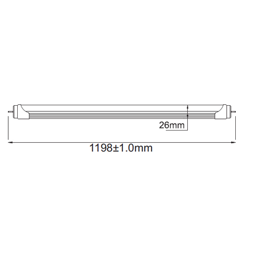 tube led 18W T3024 pic2