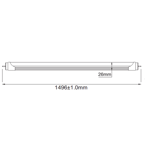 tube led 23W T3025 pic2