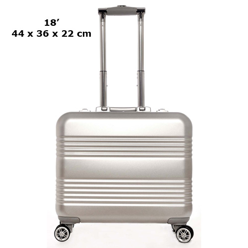 valise aluminium business 18 pouces