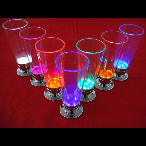 verre cocktail lumineux led