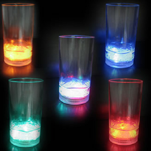 verre jus de fruits lumineux 250ml led
