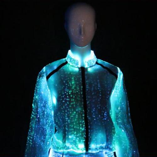 veste manche longue lumineuse pour femme VETLUMYQ64 pic4