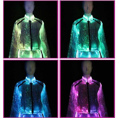 veste manche longue lumineuse pour femme VETLUMYQ64 pic7