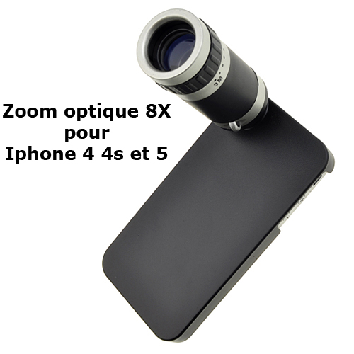 zoom optique 8x iphone 4 4s 5